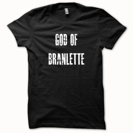 Tee shirt Gof Of Branlette blanc/noir