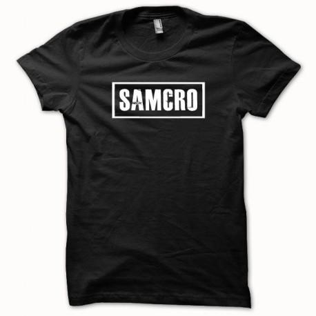 Camisa samcro Hijos de la anarquía blanco / negro