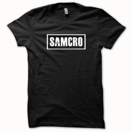 Tee shirt Samcro Sons of anarchy blanc/noir