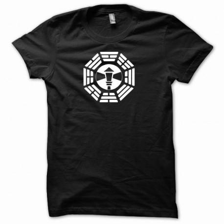 Camiseta el poste de la lámpara Lost  Perdidos negro