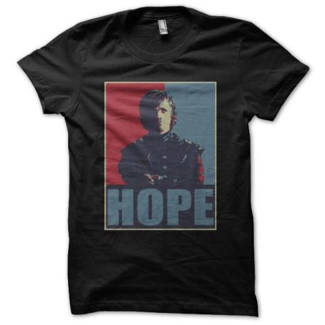 T-shirt Tyrion Lannister parody Obama black