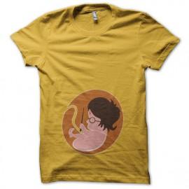 T-shirt foetus Harry Potter yellow