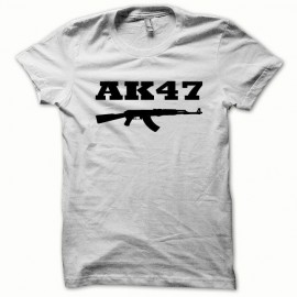 Tee shirt AK-47 kalachnikov version de base noir/blanc