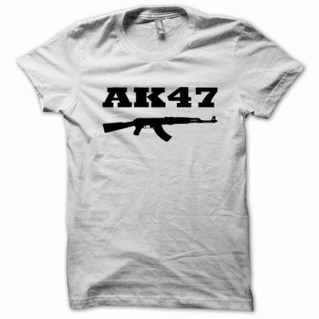 Tee shirt AK-47 kalachnikov noir/blanc