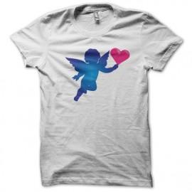 Tee shirt Ange Cupidon blanc