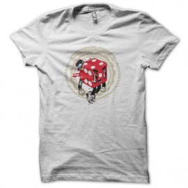 Tee shirt Poker Seize Chance blanc