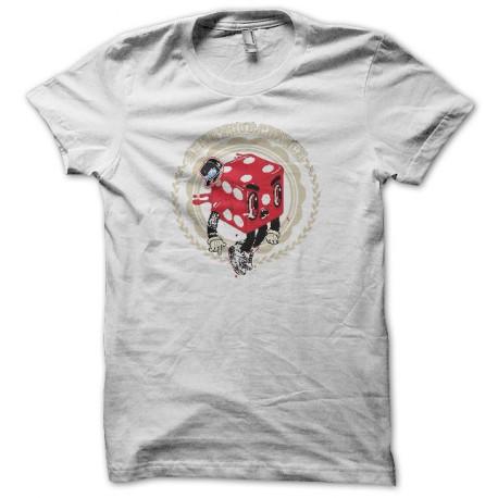 Tee shirt Poker King fucking blanc