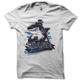 Tee shirt Poker Shark forever blanc