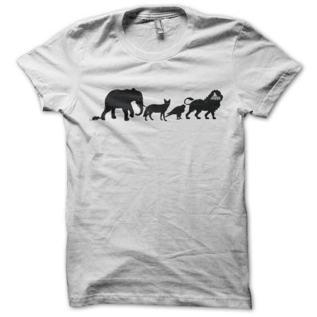 Tee shirt Poker Evolution blanc