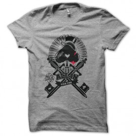 Tee shirt Poker All-in gris