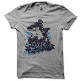 Tee shirt Poker Shark forever gris