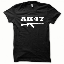 Tee shirt AK-47 kalachnikov l'original blanc/noir