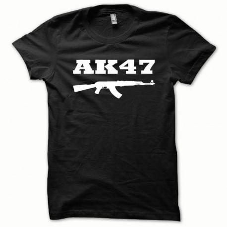 Tee shirt AK-47 kalachnikov blanc/noir