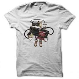 Tee shirt Alex Kidd iksega blanc