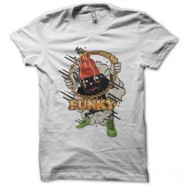 Tee shirt Retro Funky blanc