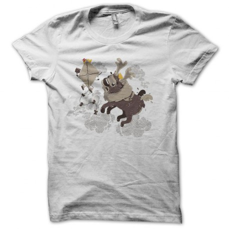 Tee shirt Cerf Volant blanc