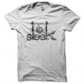 Tee shirt Sleek Artwork blanc