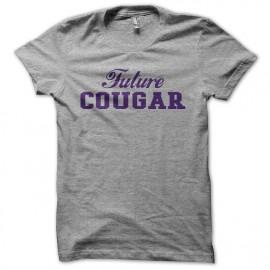 T-shirt Future Cougar white