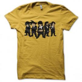 Tee shirt Manga parodie Reservoir Dogs jaune