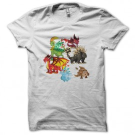 Dragon City t-shirt white