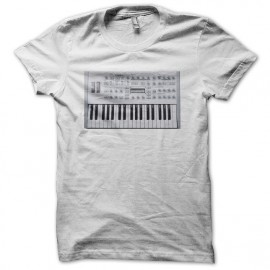 Tee shirt Techno Access Virus blanc