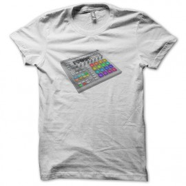 Tee shirt Techno Maschine NI MK2 blanc