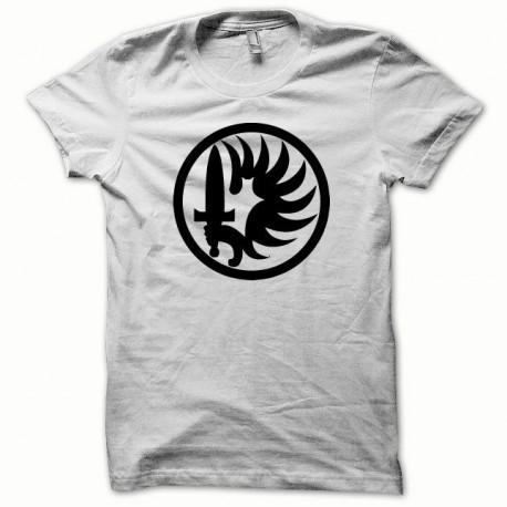 Tee shirt Légion Etrangère noir/blanc