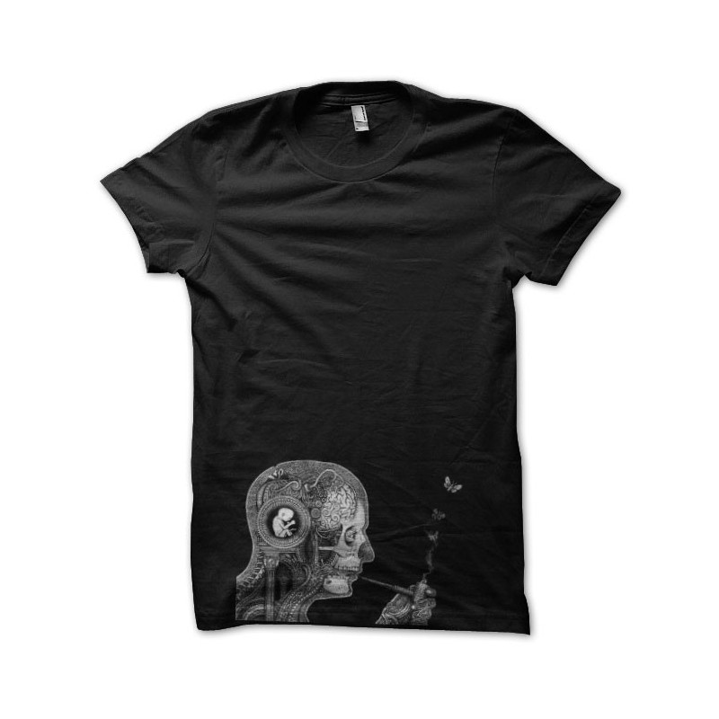 T-Shirt THC black pipe Anatomy