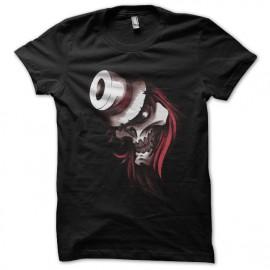 Tee shirt Tattoo1 tête de mort canon noir
