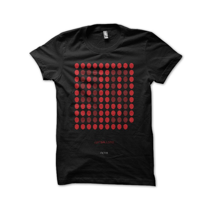 Shirt 99 Luftballons Nena Artwork Black