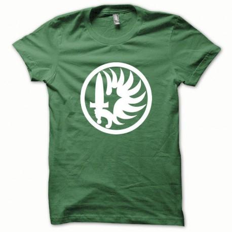 Foreign Legion t-shirt white / green bottle