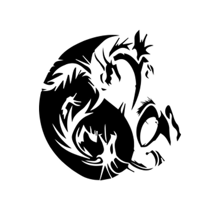 Tee shirt tatouage tribal japonais dragon blanc - Tatouage dragon japonais ...