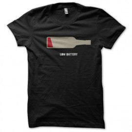 T shirt Low black alcohol