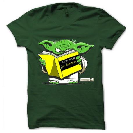 Comment discerner ce qu'une phrase banale veut vraiment dire ? Tee-shirt-vert-maitre-yoda-grammaire-pour-les-nuls