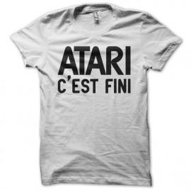 Tee shirt Atari c'est fini blanc