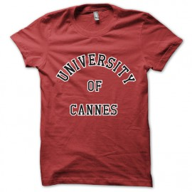 Shirt Univerté canes the city of fear Dummies red jeremy simon