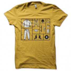 Camiseta naranja mecánica de Stanley Kubrick kit amarillo