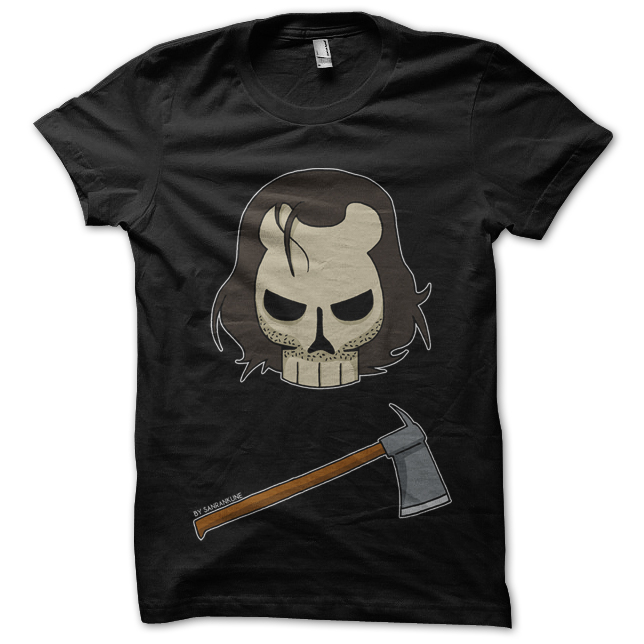 Geek T-Shirt Black Jack Black with Logo Shining T-shirt silkscreen ...