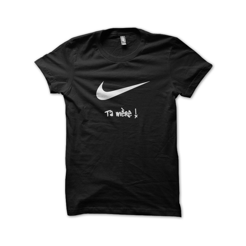 Negro Tu La Ntm Parodia Nike Camisa Madre De nPfwIzYpqx