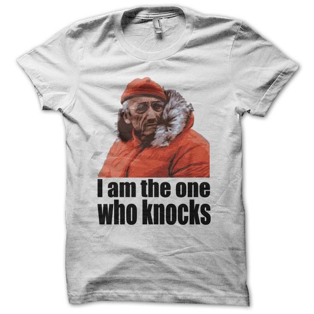 Tee shirt Cousteau parodie Breaking Bad blanc