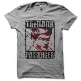 Tee shirt Dexter Dark Passenger gris