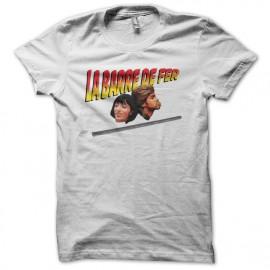 T-shirt La barre de fer white