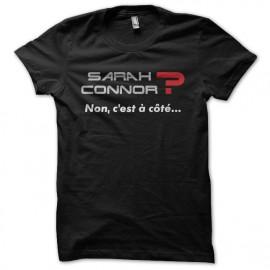 T-shirt Sarah Connor La cité de la peur black