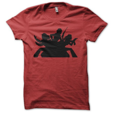 T-shirt Charlie's Angels red