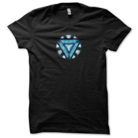 Tee Shirt Iron Man 3 new Arc Reactor symbol black