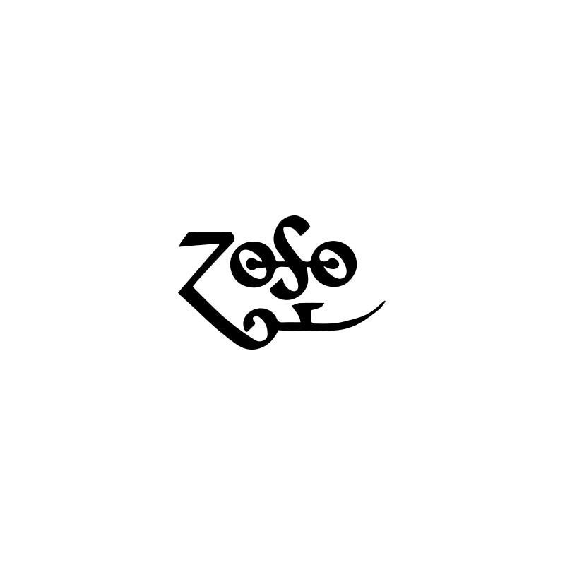 T Shirt Led Zeppelin Zoso Symbol White