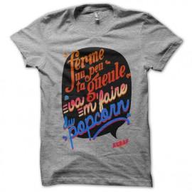 Tee shirt Asbaf Modèle 2 Gris chiné