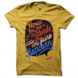 Tee shirt Asbaf Modèle 2 Jaune