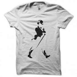 Camiseta de Johnny Walker Blanca