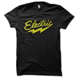 Tee shirt original tendance urban electric noir
